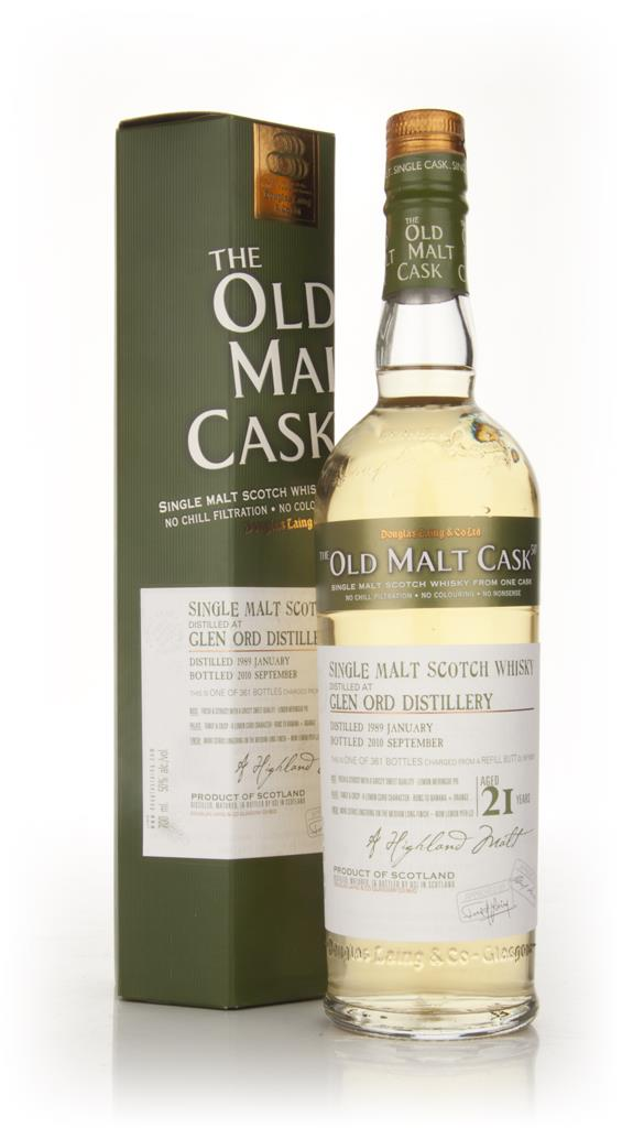 Glen Ord 21 Year Old 1989 - Old Malt Cask (Douglas Laing) Single Malt Whisky