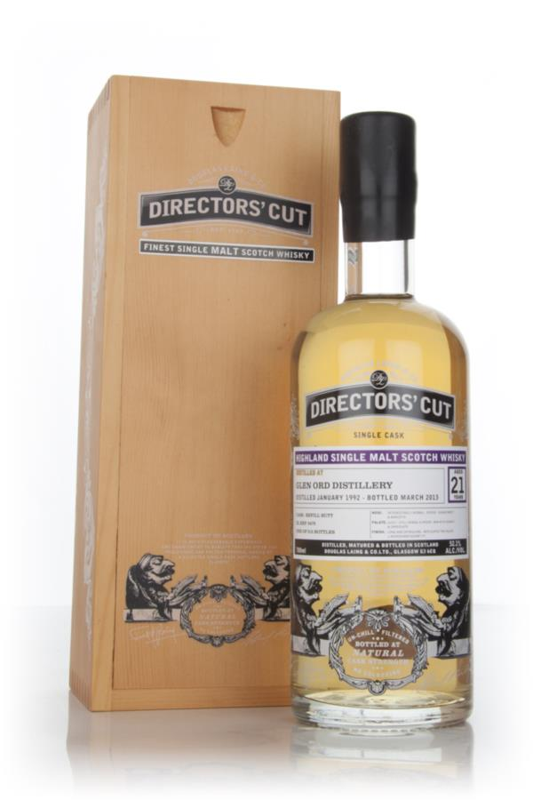 Glen Ord 21 Year Old 1992 (cask 9478) - Directors Cut (Douglas Laing) Single Malt Whisky