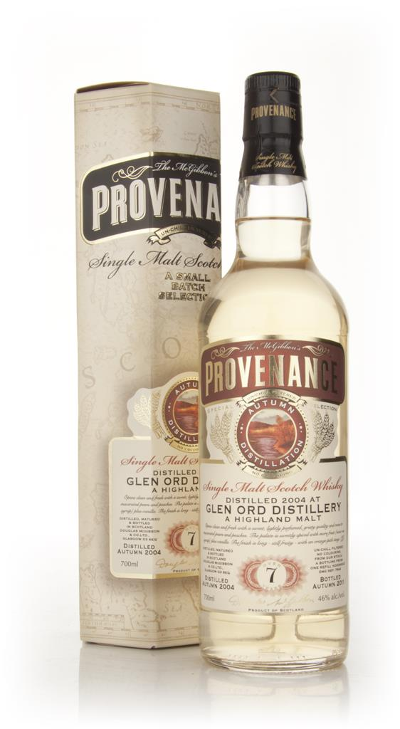 Glen Ord 7 Year Old 2004 - Provenance (Douglas Laing) Single Malt Whisky