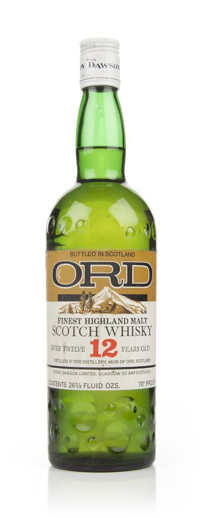 Ord 12 Year Old Highland Malt Whisky - 1970s Blended Whisky