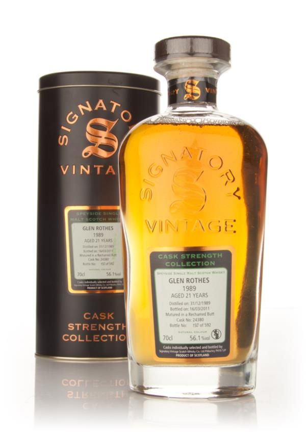 Glen Rothes 21 Year Old 1989 Cask 24380 - Cask Strength Collection (Si Single Malt Whisky