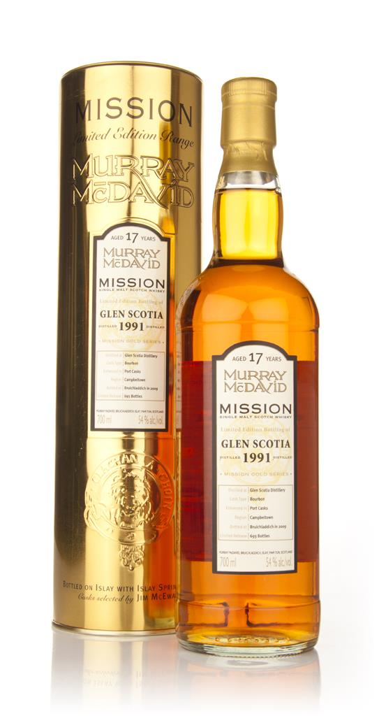 Glen Scotia 17 Year Old 1991 - Mission (Murray McDavid) Single Malt Whisky