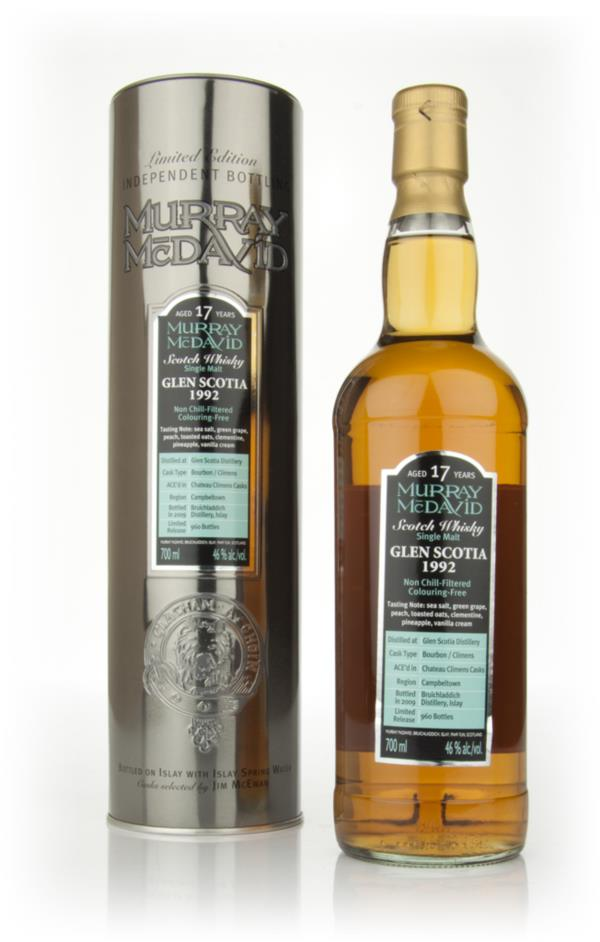 Glen Scotia 17 Year Old 1992 (Murray McDavid) Single Malt Whisky