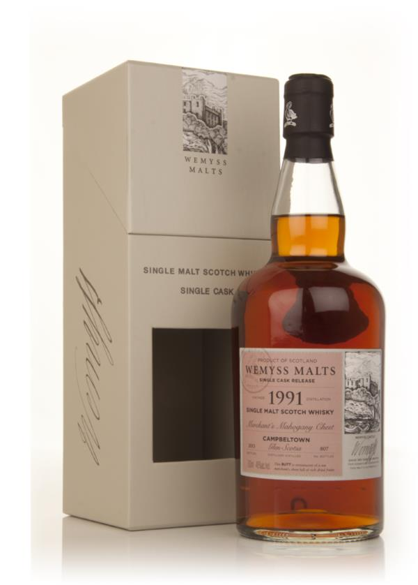 Merchants Mahogany Chest 1991 - Wemyss Malts (Glen Scotia) Single Malt Whisky