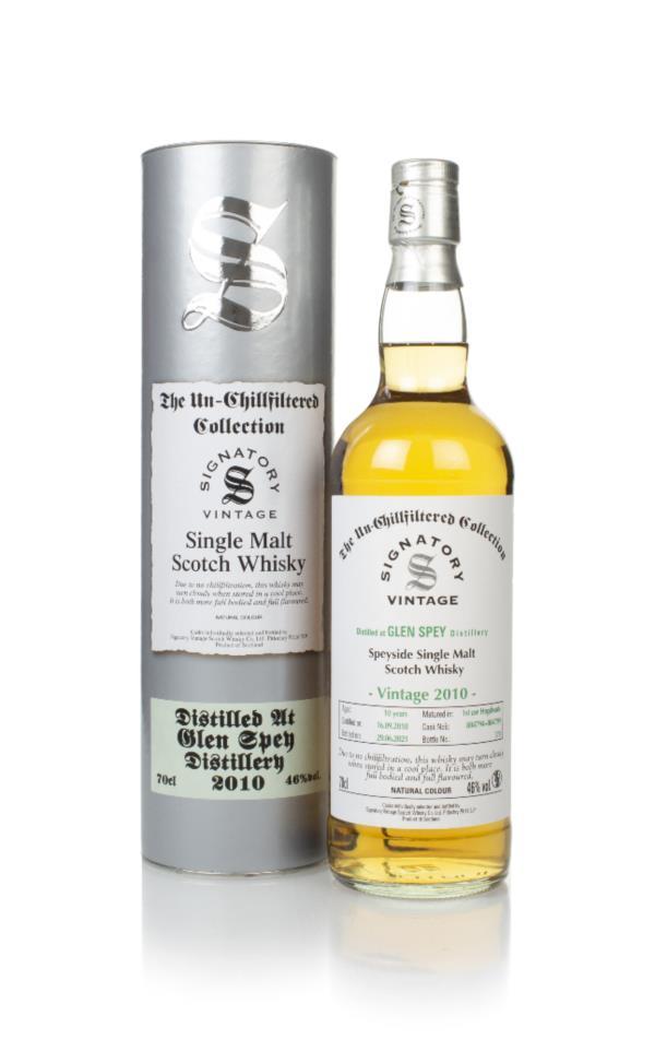 Glen Spey 10 Year Old 2010 (casks 804794 & 804799) - Un-Chilfiltered C Single Malt Whisky