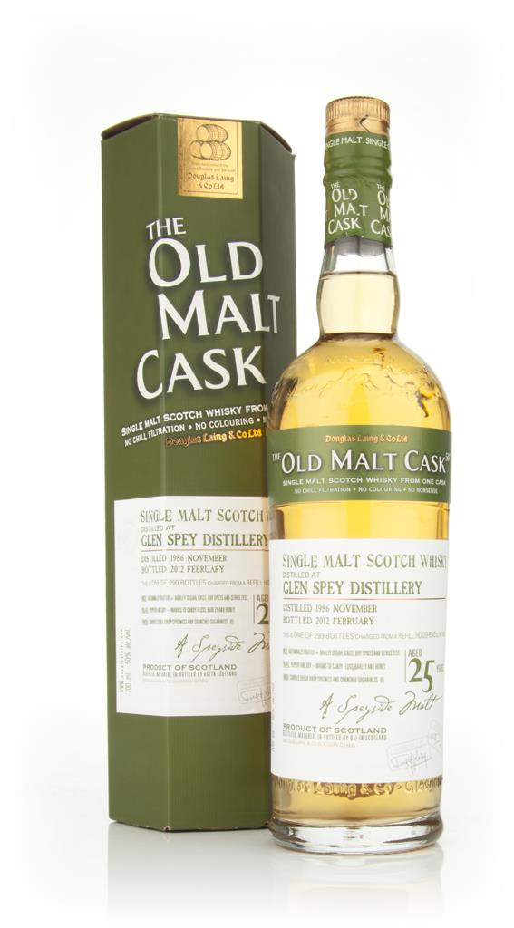 Glen Spey 25 Year Old 1986 - Old Malt Cask (Douglas Laing) Single Malt Whisky