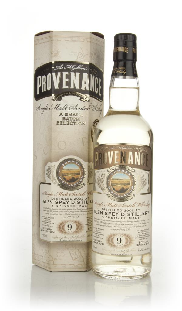 Glen Spey 9 Year Old 2002 - Provenance (Douglas Laing) Single Malt Whisky