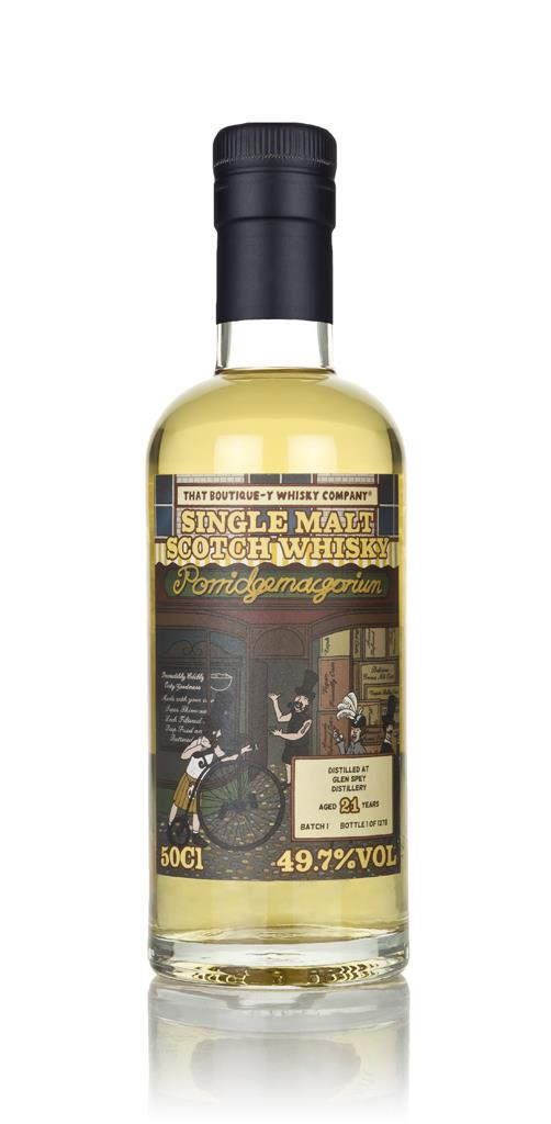 Glen Spey 21 Year Old (That Boutique-y Whisky Company) 3cl Sample Single Malt Whisky
