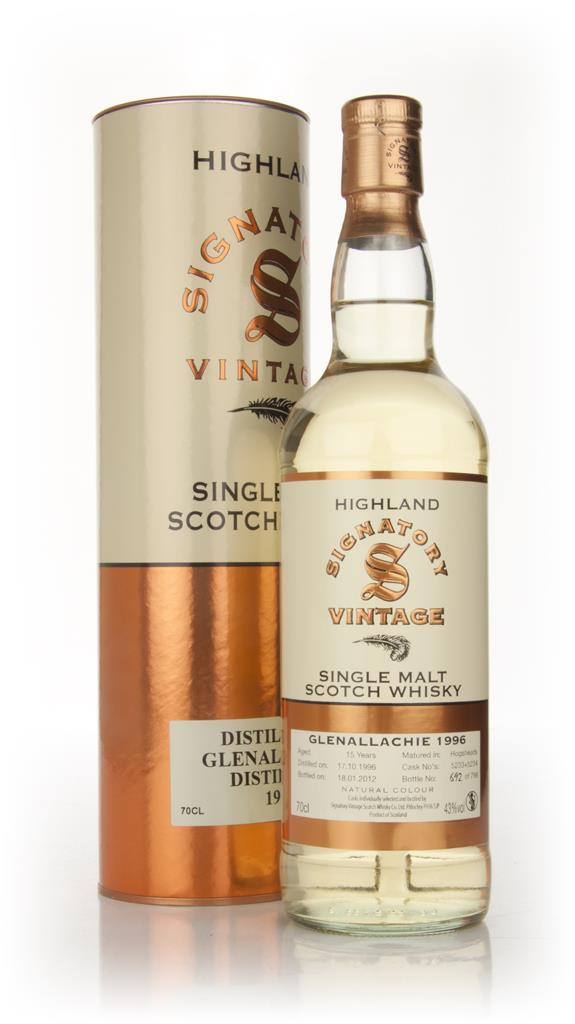 Glenallachie 15 Year Old 1996 (Signatory) Single Malt Whisky
