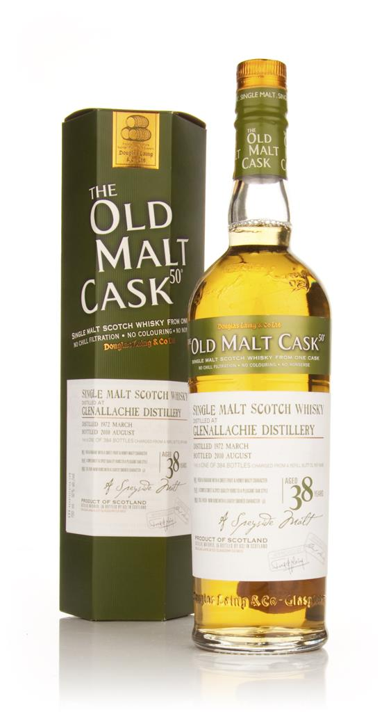 Glenallachie 38 Year Old 1972 Cask 6498 - Old Malt Cask (Douglas Laing Single Malt Whisky