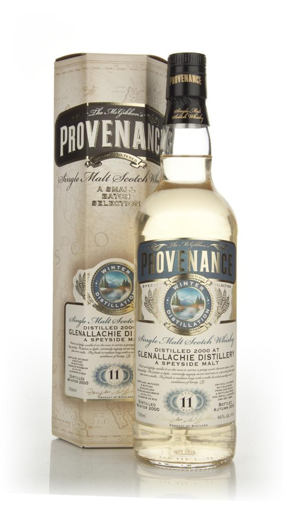 Glenallachie 11 Years Old 2000 - Provenance (Douglas Laing) Single Malt Whisky
