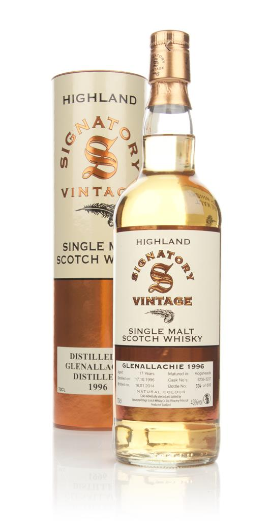 Glenallachie 17 Year Old 1996 - (casks 5236+5237) (Signatory) Single Malt Whisky