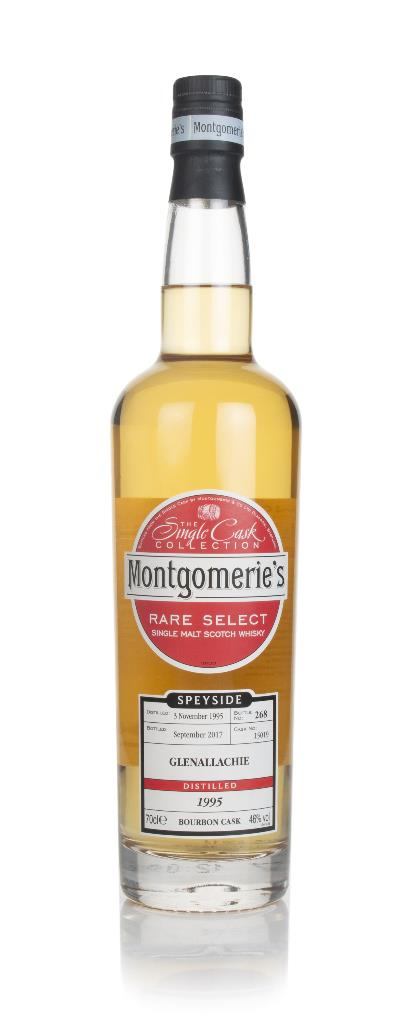 GlenAllachie 21 Year Old 1995 (cask 15019) - Rare Select (Montgomerie' Single Malt Whisky