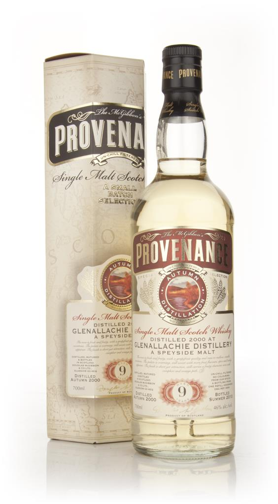 Glenallachie 9 Year Old 2000 - Provenance (Douglas Laing) Single Malt Whisky