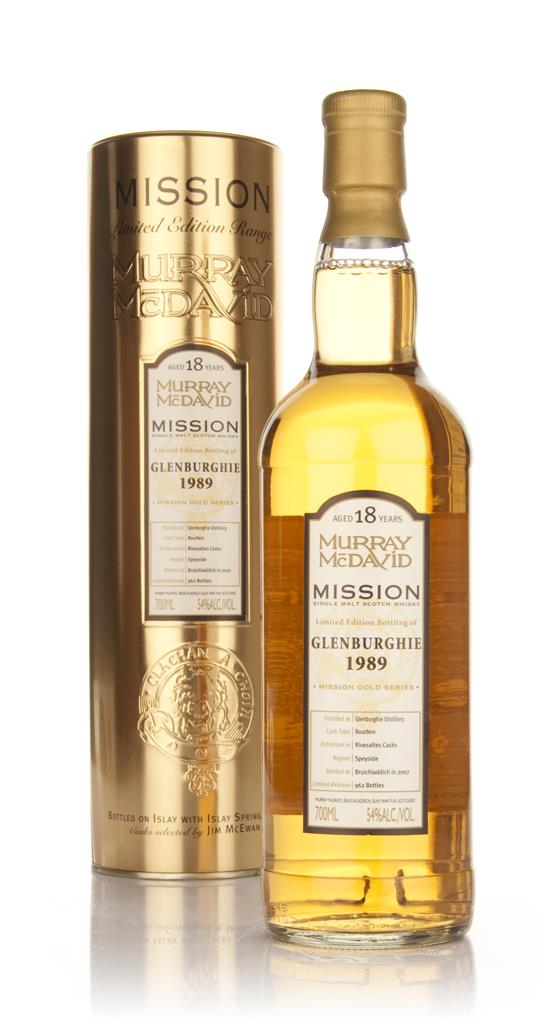 Glenburghie 18 Year Old 1989 - Mission (Murray McDavid) Single Malt Whisky