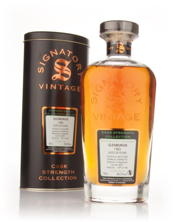 Glenburgie 26 Year Old 1983 Cask 9813 - Cask Strength Collection (Sign Single Malt Whisky