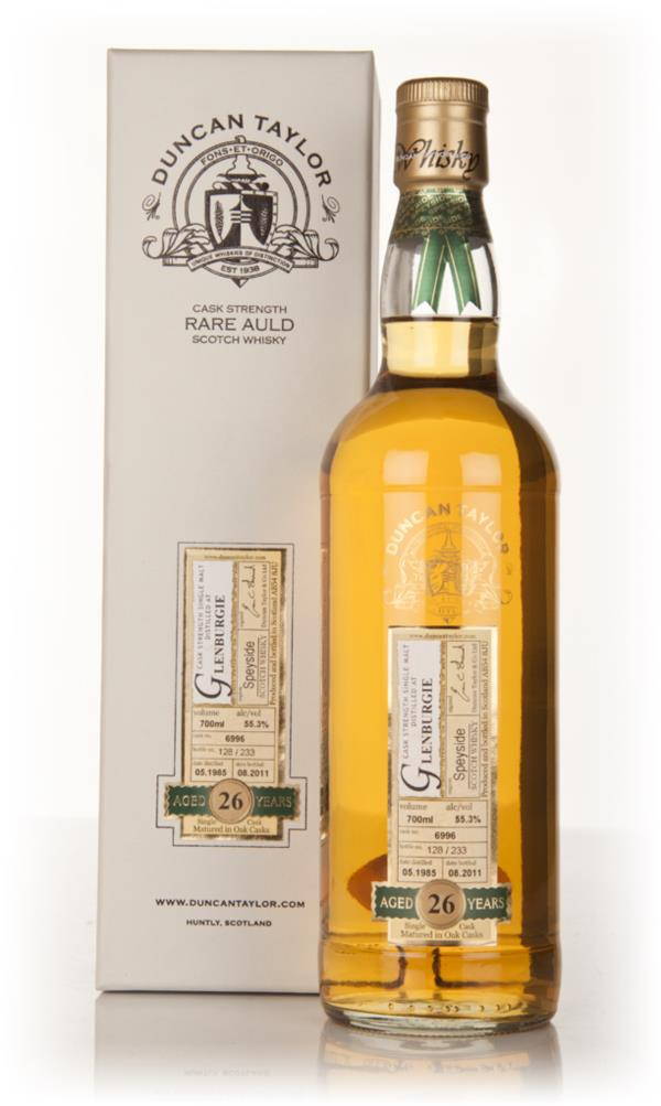 Glenburgie 26 Year Old 1985 - Rare Auld (Duncan Taylor) Single Malt Whisky