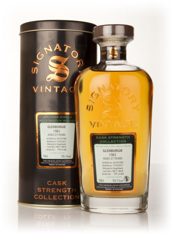Glenburgie 27 Year Old 1983 - Cask Strength Collection (Signatory) Single Malt Whisky