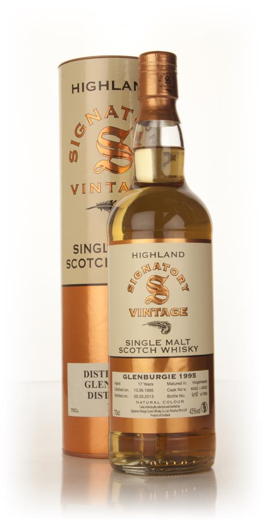 Glenburgie 17 Year Old 1995 (casks 6452+6453) (Signatory) Single Malt Whisky