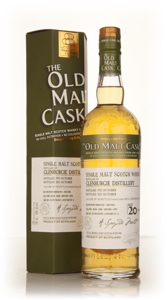 Glenburgie 20 Year Old 1992 (cask 9198) - Old Malt Cask (Douglas Laing Single Malt Whisky