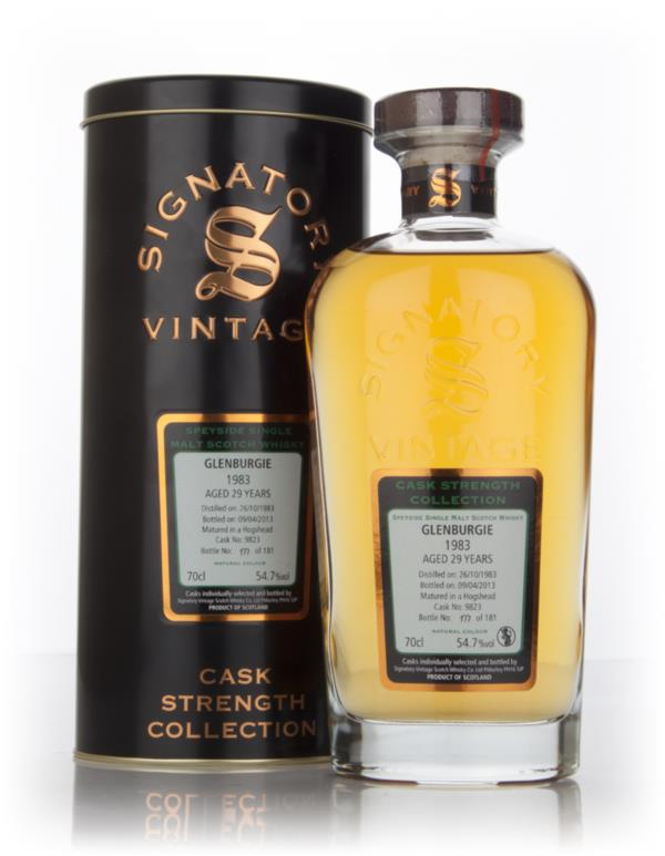 Glenburgie 29 Year Old 1983 (cask 9823) - Cask Strength Collection (Si Single Malt Whisky