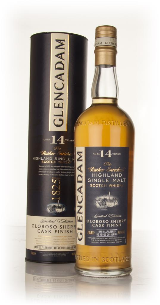 Glencadam 14 Year Old Oloroso Sherry Cask Finish Single Malt Whisky