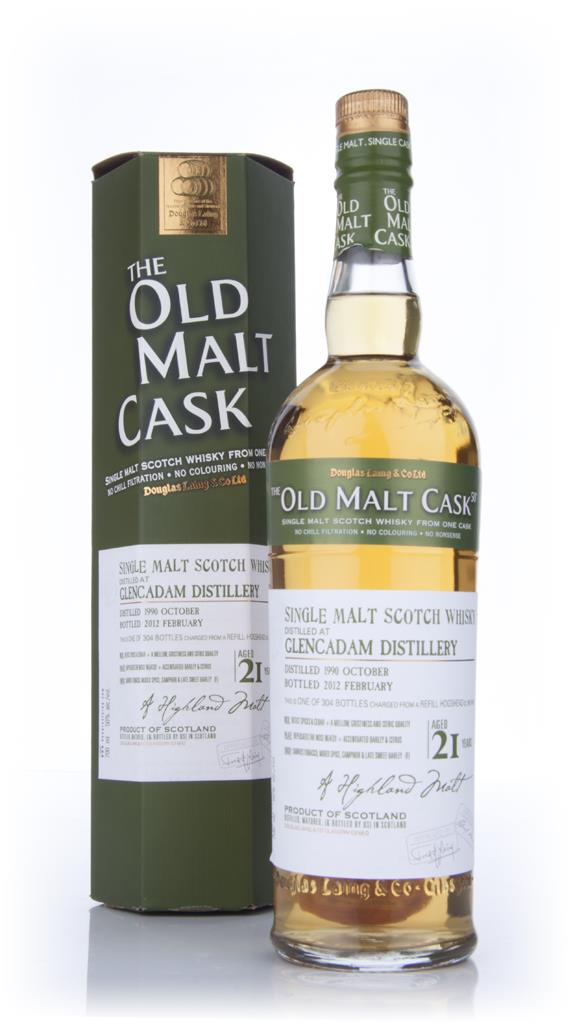 Glencadam 1990 21 Year Old - Old Malt Cask (Douglas Laing) Single Malt Whisky