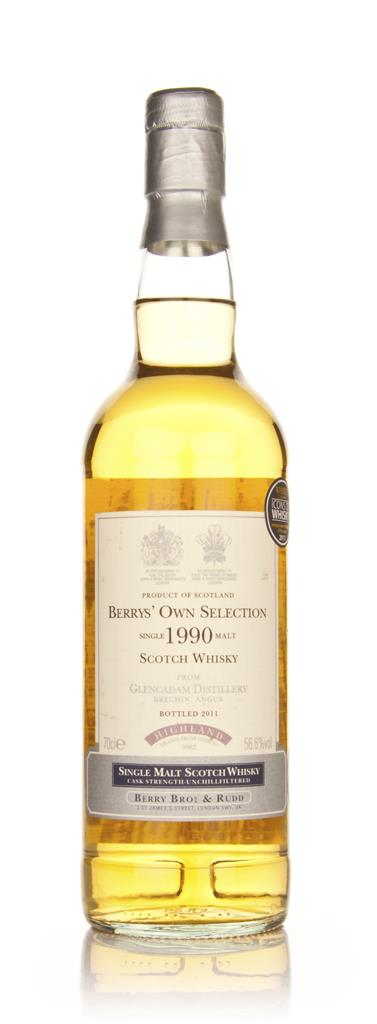Glencadam 1990 (Berry Brothers and Rudd) Single Malt Whisky
