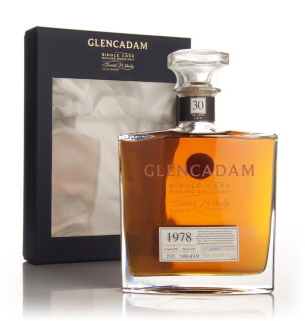 Glencadam 30 Year Old 1978 Sherry Cask Single Malt Whisky