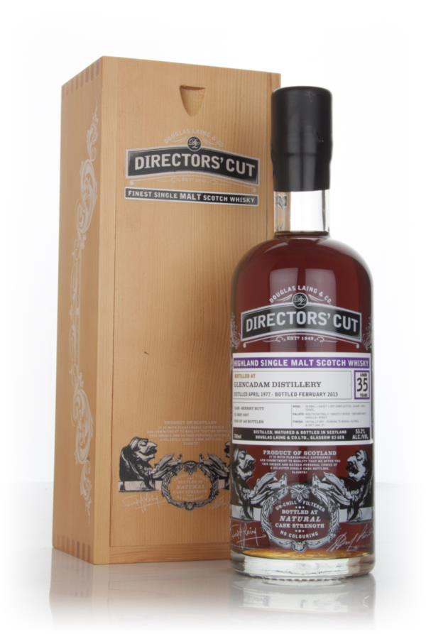 Glencadam 35 Year Old 1977 (cask 9457) - Directors Cut (Douglas Laing Single Malt Whisky