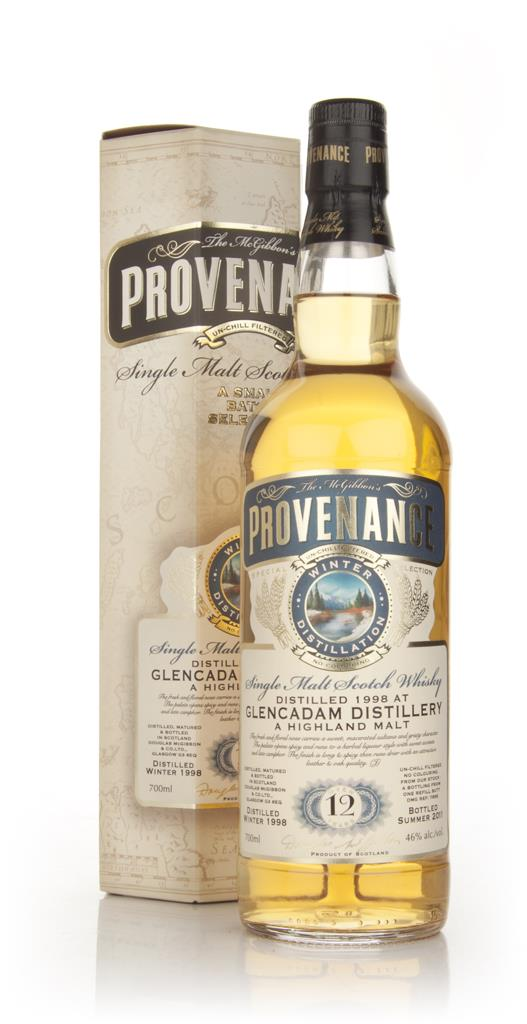 Glencadam 12 Year Old 1998 - Provenance (Douglas Laing) Single Malt Whisky