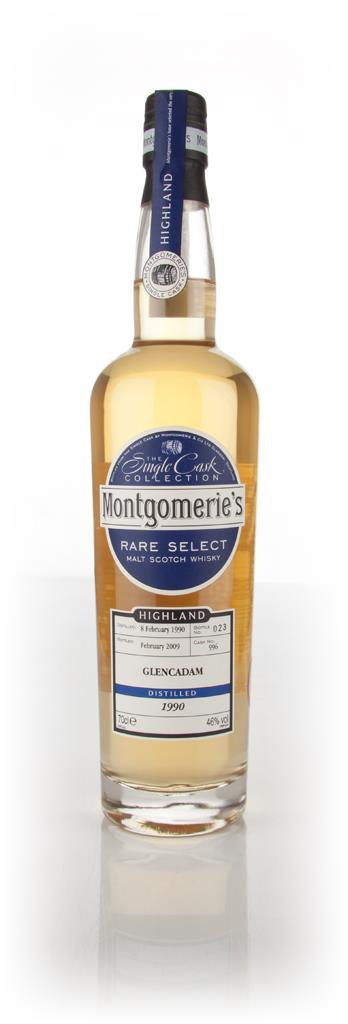 Glancadam 1990 - Rare Select (Montgomeries) Single Malt Whisky