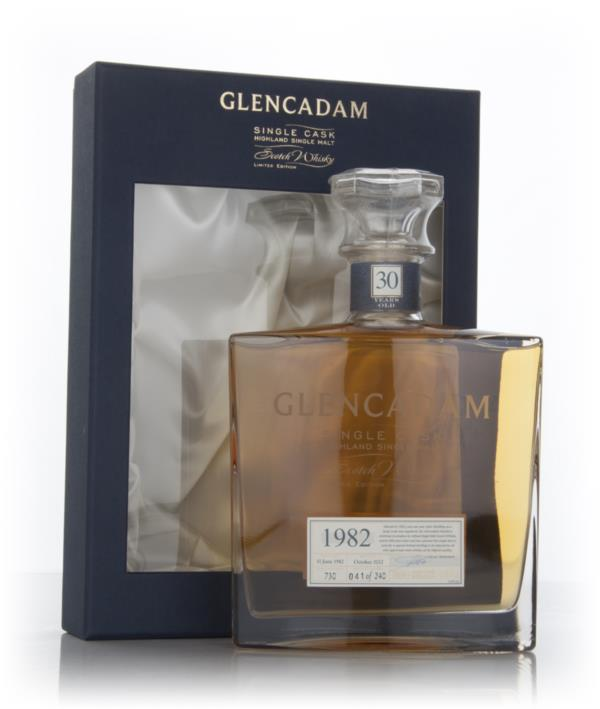 Glencadam 30 Year Old 1982 (cask 730) - Limited Edition Single Malt Whisky