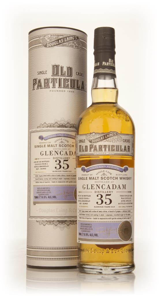Glencadam 35 Year Old 1978 (cask 9952) - Old Particular (Douglas Laing Single Malt Whisky