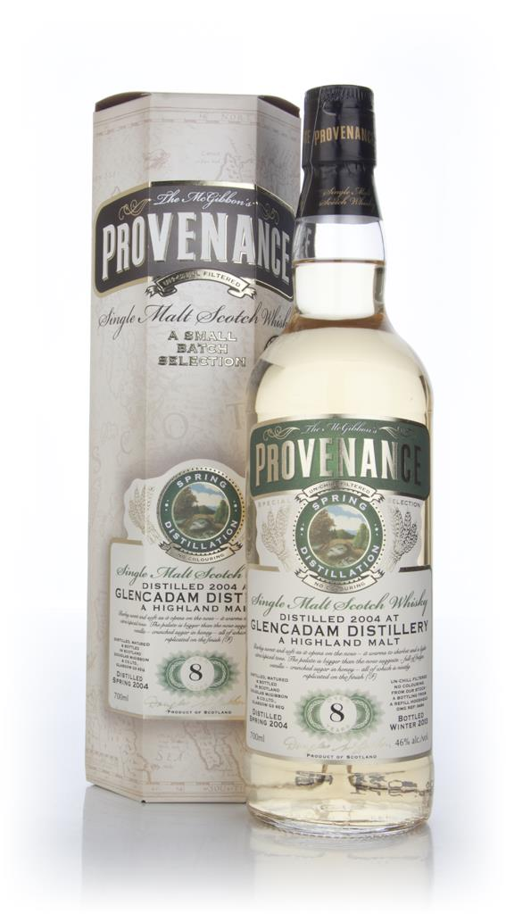 Glencadam 8 Year Old 2004 (cask 9484) - Provenance (Douglas Laing) Single Malt Whisky