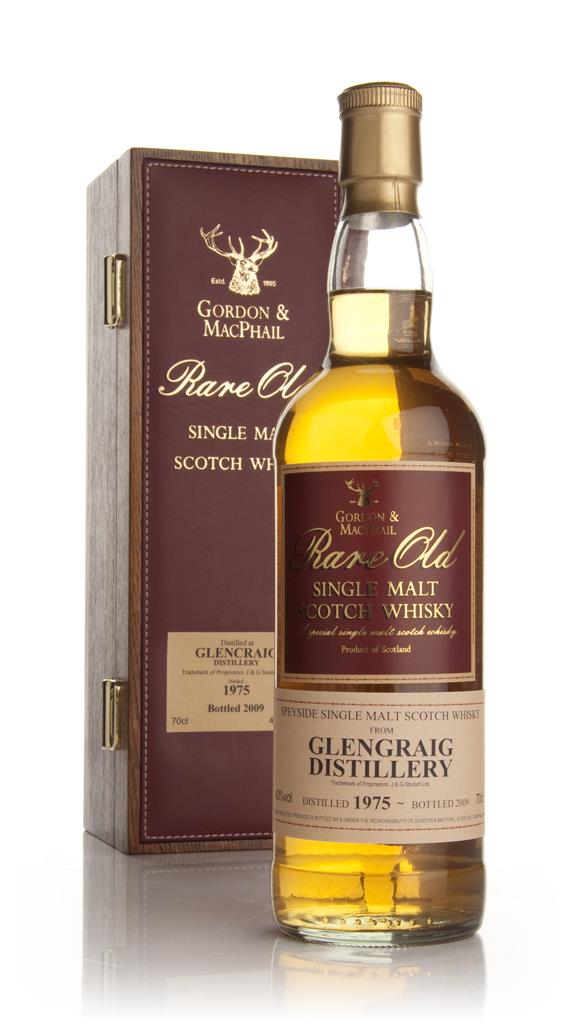 Glencraig 1975 - Rare Old (Gordon and MacPhail) Single Malt Whisky