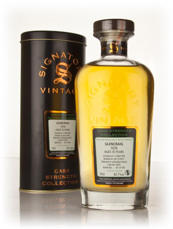 Glencraig 35 Year Old 1976 Cask 4255 - Cask Strength Collection (Signa Single Malt Whisky