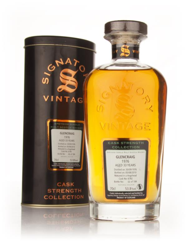 Glencraig 35 Year Old 1976 Cask 4259 - Cask Strength Collection (Signa Single Malt Whisky