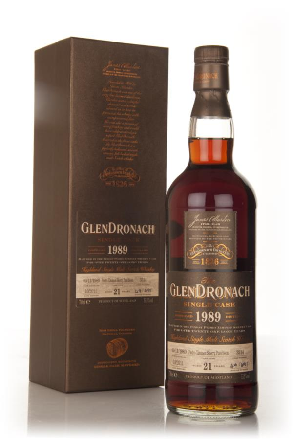 Glendronach 20 Year Old 1989 - PX Sherry Puncheon Single Malt Whisky