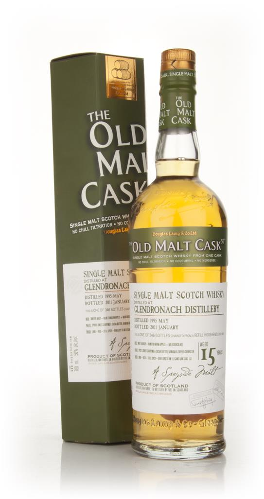 Glendronach 15 Year Old 1995 - Old Malt Cask (Douglas Laing) Single Malt Whisky