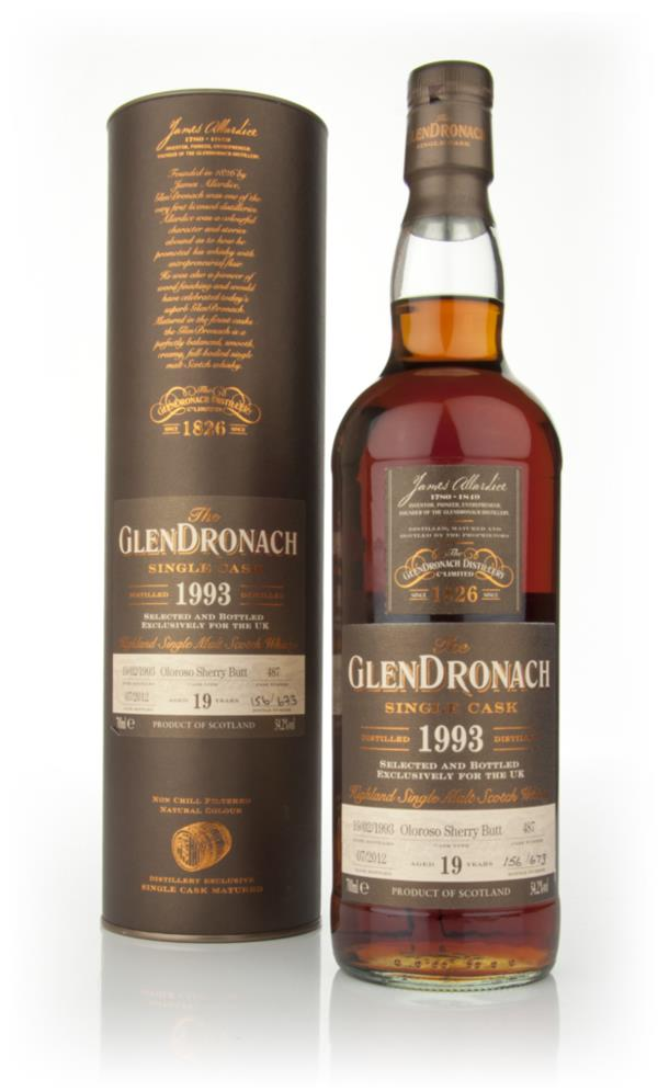 Glendronach 19 Year Old 1993 Batch 2 Single Malt Whisky