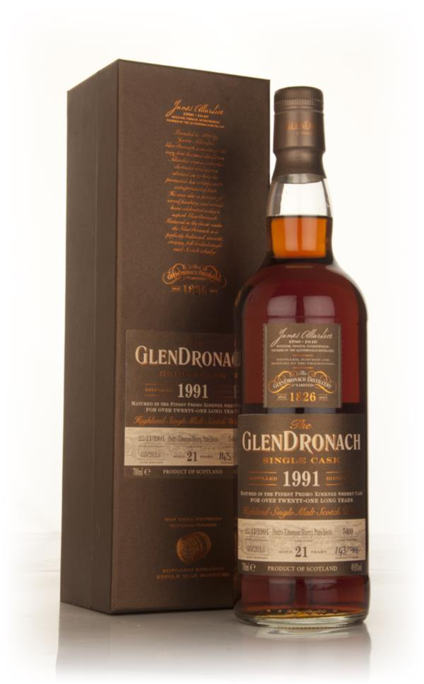 Glendronach 21 Year Old 1991 (cask 5409) - Batch 8 Single Malt Whisky