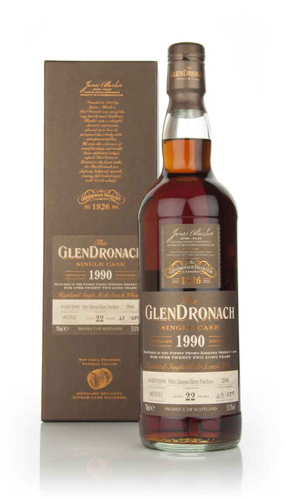 Glendronach 22 Year Old 1990 Batch 6 Single Malt Whisky
