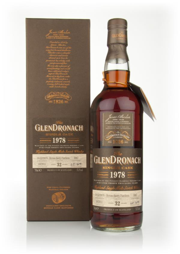 Glendronach 32 Year Old 1978 Batch 5 Single Malt Whisky