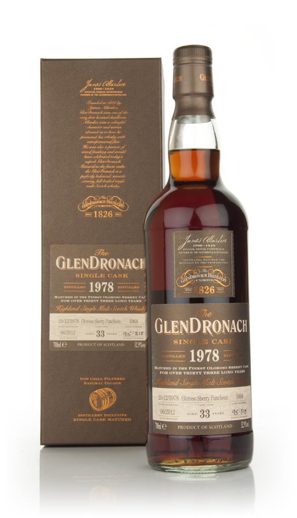 Glendronach 33 Year Old 1978 Batch 6 Single Malt Whisky