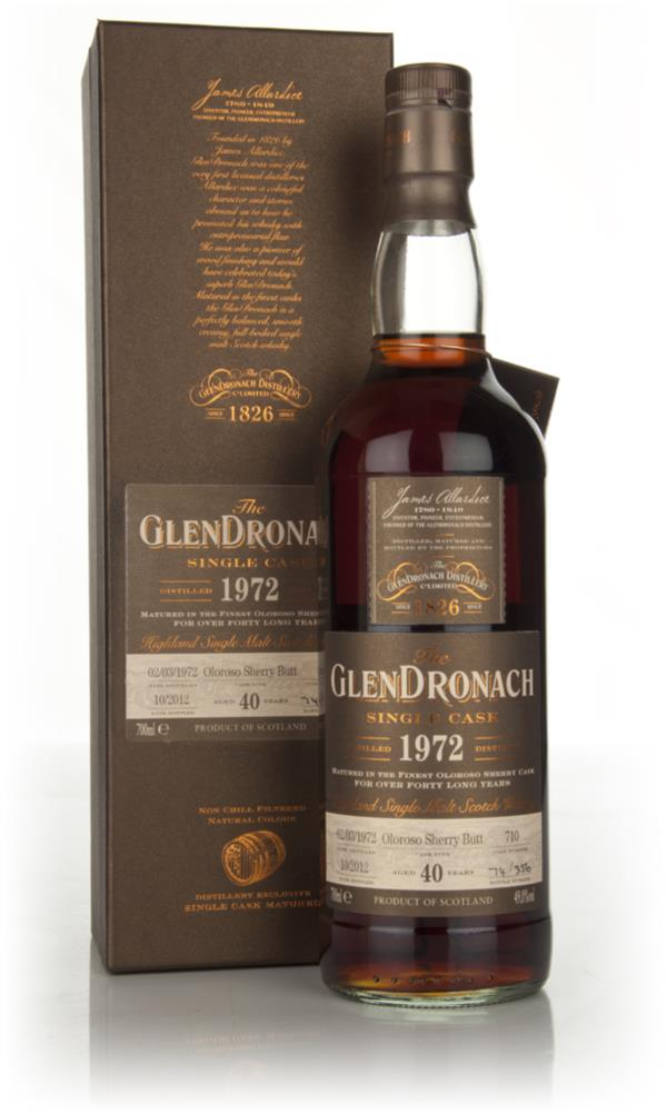 Glendronach 40 Year Old 1972  - Batch 7 Single Malt Whisky