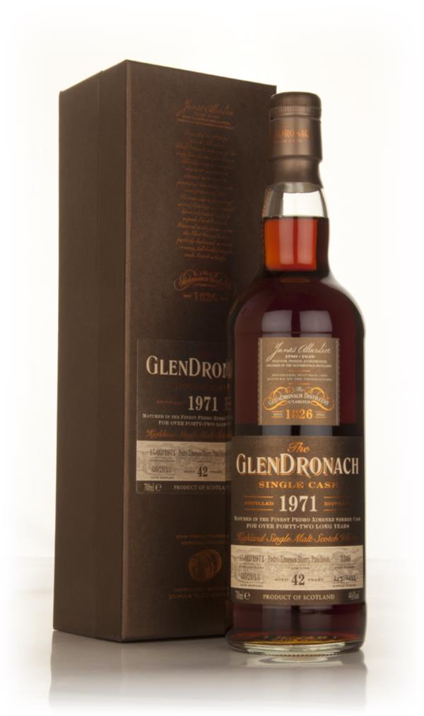 Glendronach 42 Year Old 1971 (cask 1246) - Batch 8 Single Malt Whisky