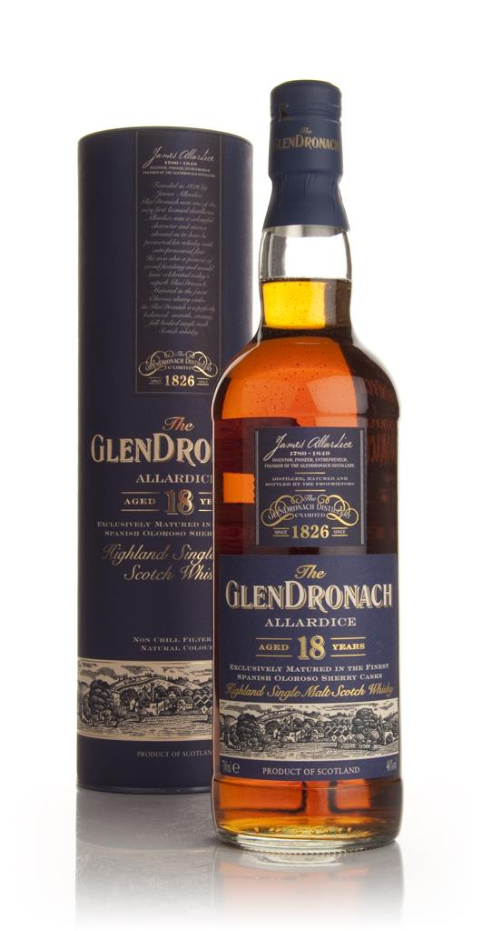 The GlenDronach 18 Year Old Allardice 3cl Sample Single Malt Whisky