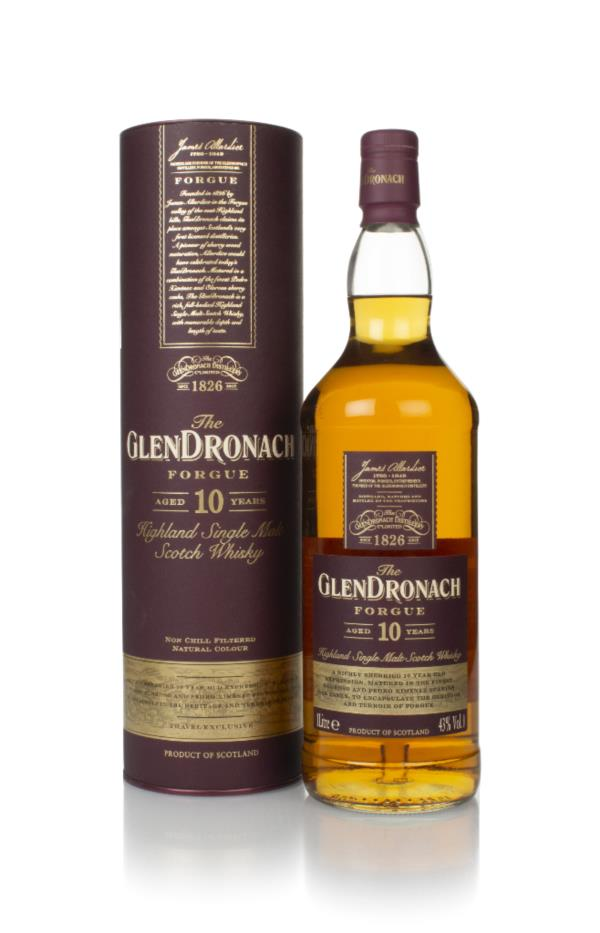 The GlenDronach Forgue 10 Year Old Single Malt Whisky