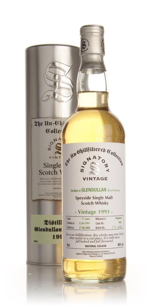Glendullan 17 Year Old 1991 - Un-Chillfiltered (Signatory) Single Malt Whisky